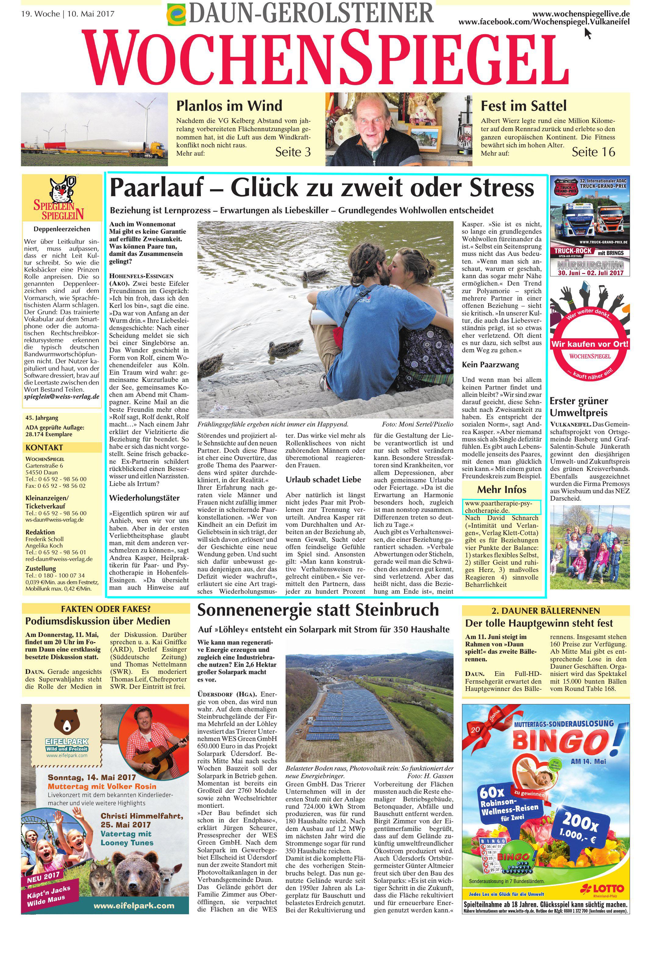 Daun-Gerolsteiner Wochenspiegel vom 10.05.2017